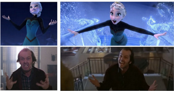 Image result for frozen the shining