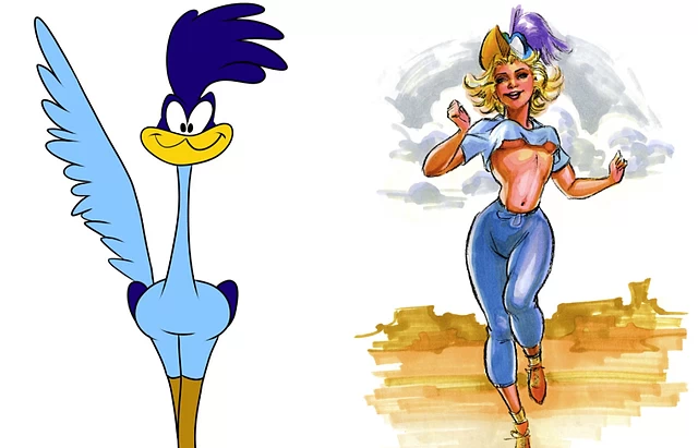 Cartoon Characters 60 70 S : This artist transforms classic cartoon characters into