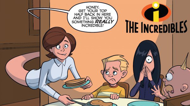 The incredibles adult cartoon