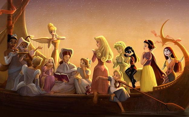 Princess Academy Concept Art Shows All Of Your Favorite Disney