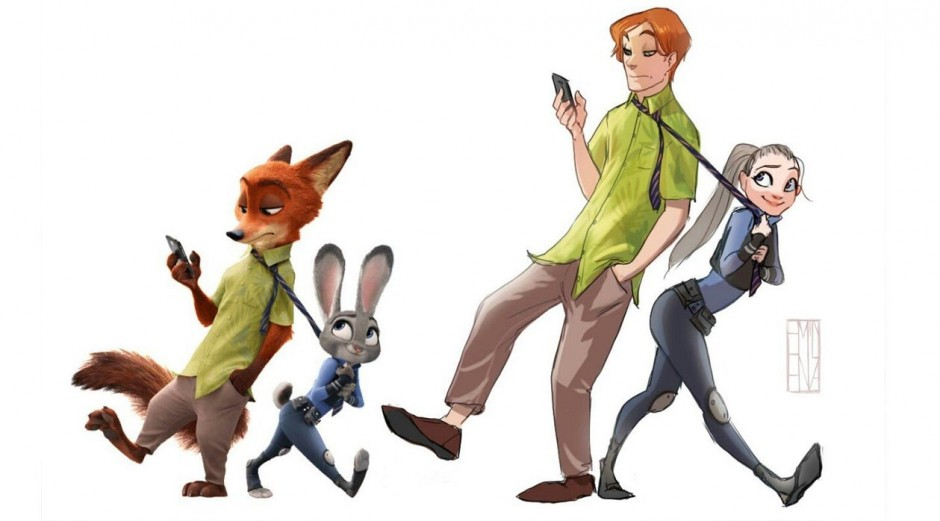 What If Zootopia Characters Were Human We Re Glad You Asked