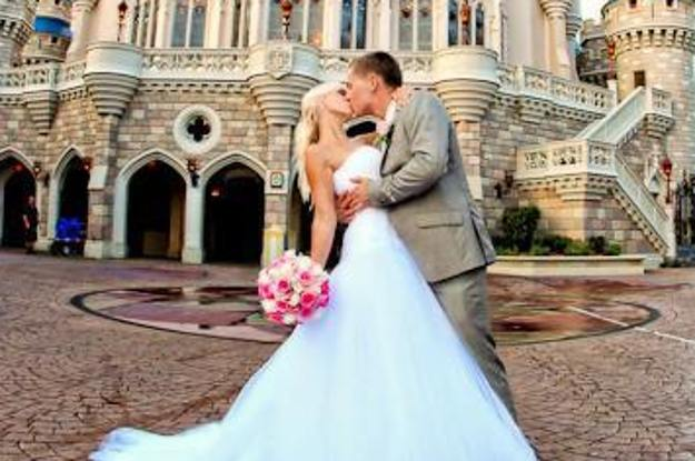 Real Disney Weddings: Brides Can Be Cinderella For A Day With Disney World's New