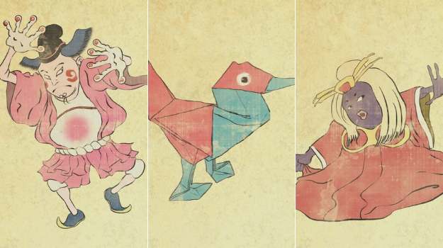 Pokemon Reimagined As Ancient Japanese Art
