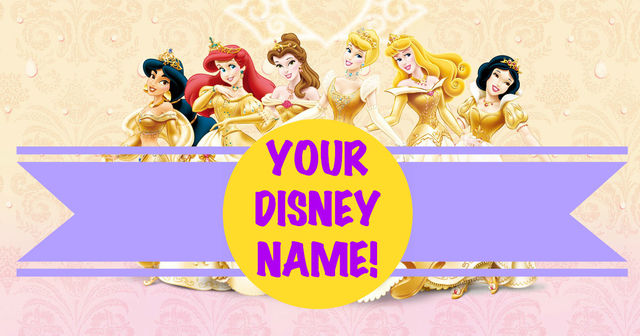 What Is Your Disney Princess Name