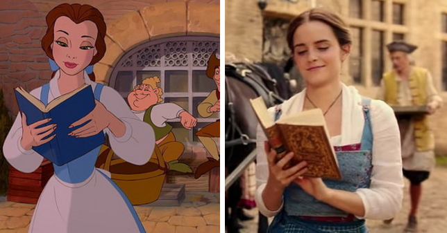 a comparison of beauty and the beast The human again sequence was added to beauty and the beast for the 2002 dvd (after the duet something there) it has been re-released once again on dvd this week and i say thank god because the 2002 dvd was impossible to find and out of print.
