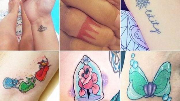 14 Tiny And Adorable Disney Tattoos