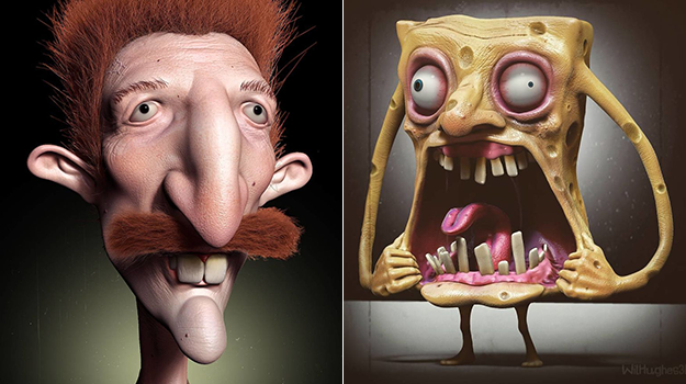 This Artist Shows How Cartoon Characters Would Look In Real Life