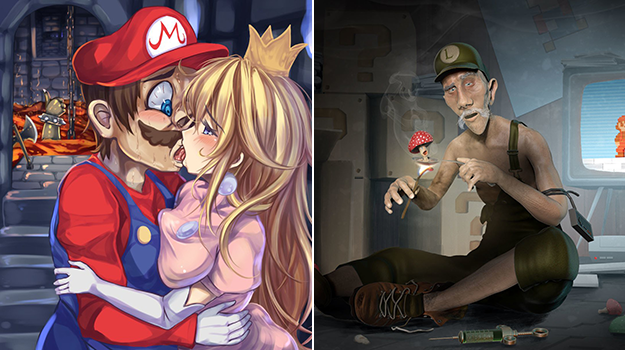 20 Times Mario Fanart Was Clearly On Mushrooms