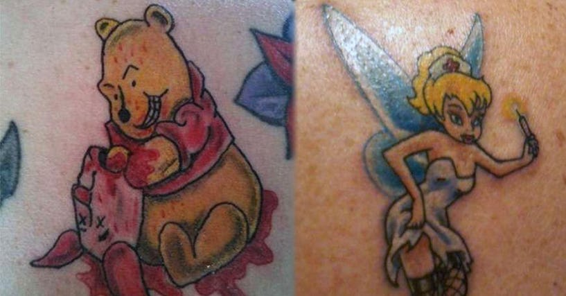 84670fb7f354f 18 Inappropriate Disney Tattoos That Will Ruin Your Childhood