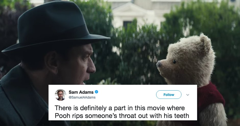 The Internet Reacts To The New Live Action Winnie The Pooh Trailer